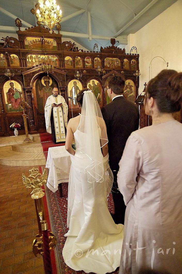 Manjit Jari shootet eine orthodoxe Hochzeit in Offenbach