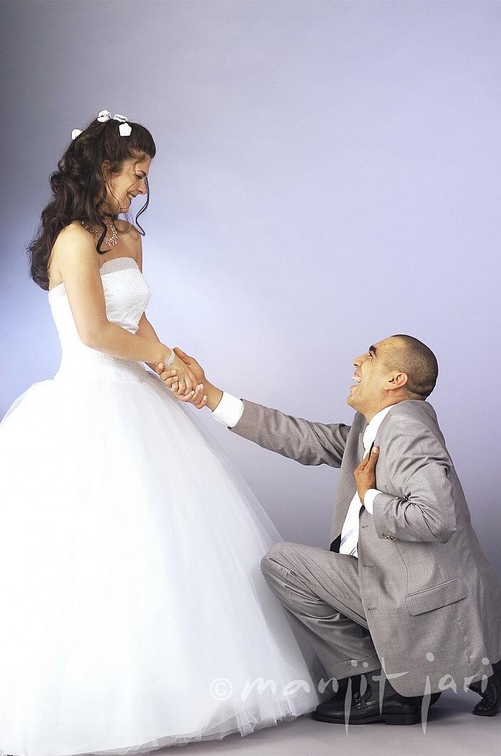 Hochzeitsfoto vom Portraitfotografen Manjit Jari