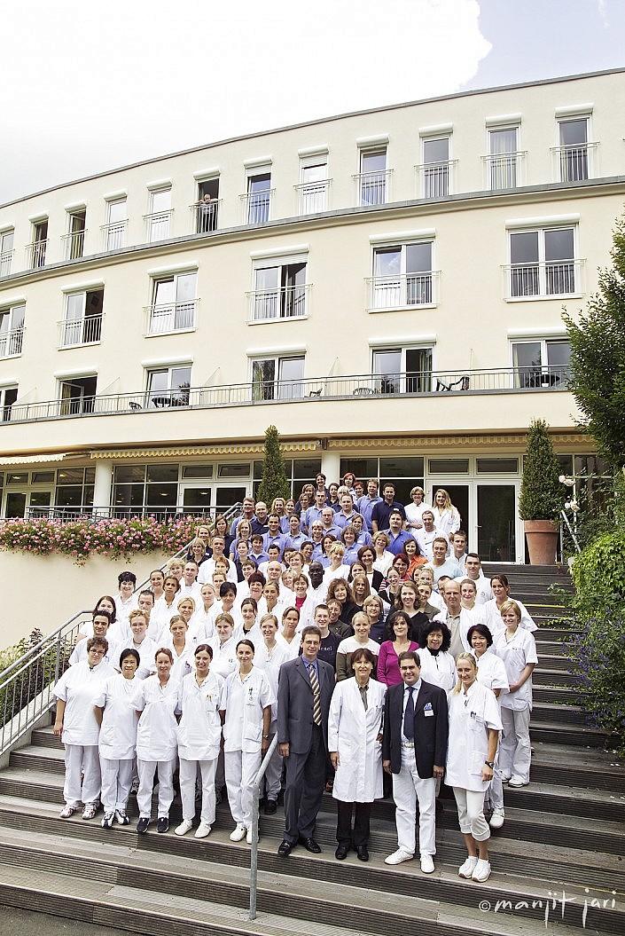 Mitarbeiter einer RehaKlinik in Königstein