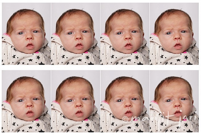 Biometrische Baby-Fotos von Manjit Jari, Frankfurt fotografiert