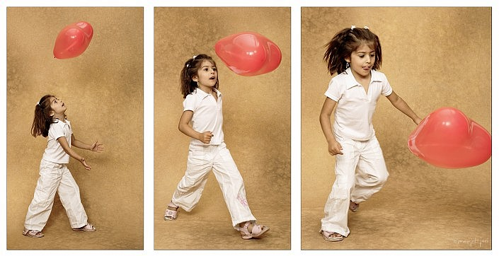 Children photography by Manjit Jari in his photostudio