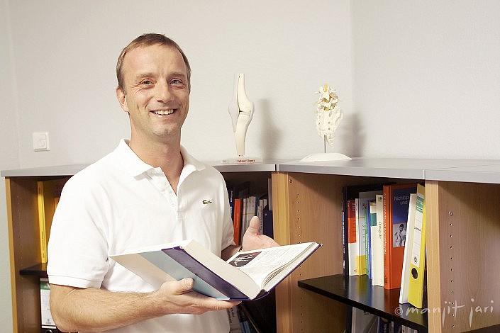 Ein ÄrzteFoto für die Webseite im medizienischem Bereich.
